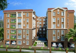 Residential flats at Garia