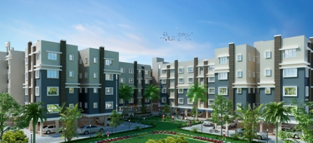 Flat at Digberia, Kolkata. Property listed at gharkolkata